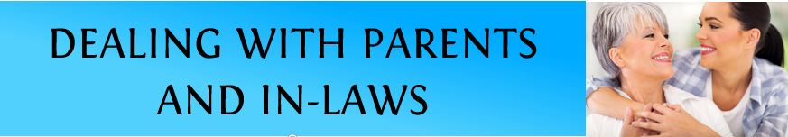 dealing with parents & in-laws