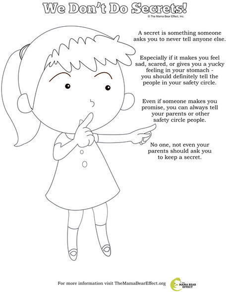 This Can Really Help Children Become Active In Their Learning Important Principles About Staying Safe From Abuse Remember That Topic Is Not Something